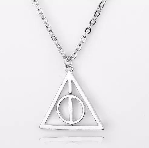 Colar Prateado Harry Potter A Relíquias Morte