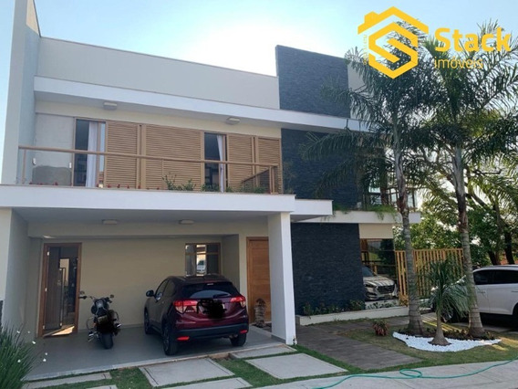 Linda Casa À Venda No Condomínio Residencial Boa Vista Em Jundiaí/sp, Próximo Do Jardim Samambaia. - Ca01352