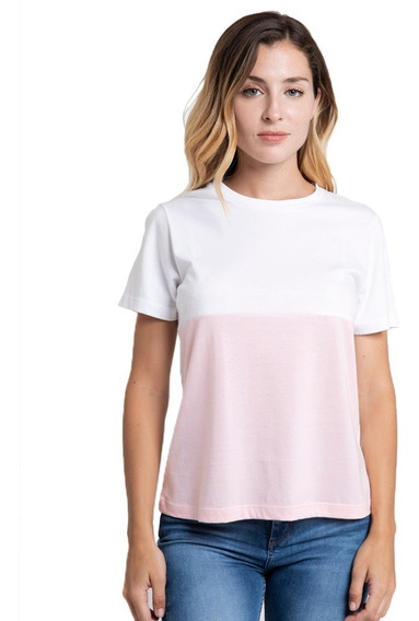 Remera Mujer Rusty Promise Rosa
