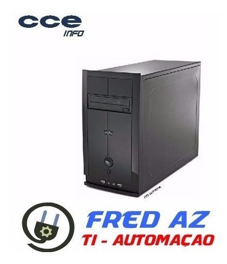 Cpu Computador Cm23 Hd 320gb 2gb Gravador Dvd Rw Win 7