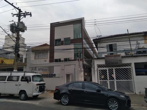 Studio Com 1 Dormitório Para Alugar, 30 M² Por R$ 1.400,00/mês - Cidade Mãe Do Céu - São Paulo/sp - St6860