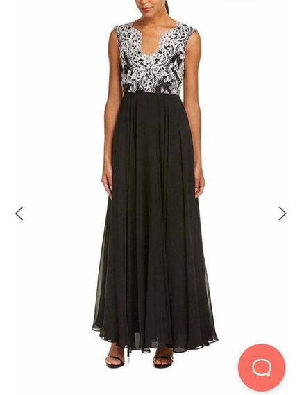 Elegante Vestido Aidan Mattox Talla 0