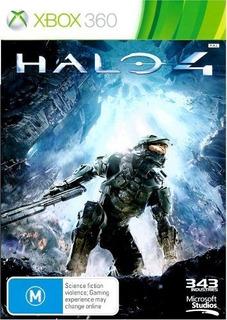 Halo 4 Xbox 360 Nuevo Y Sellado