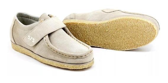Sapato Canadian, Cacareco Anos 80 Retro Camurça Velcro