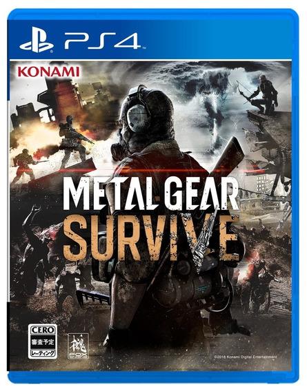 Metal Gear Survive Ps4 Mídia Física Pronta Entrega