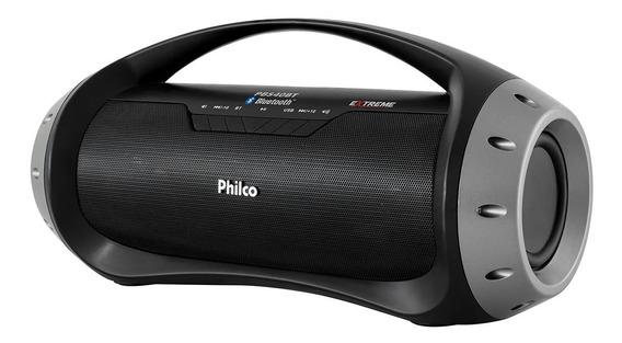 Caixa De Som Speaker Philco Pbs40bt Extreme 40w Rms - Bivolt