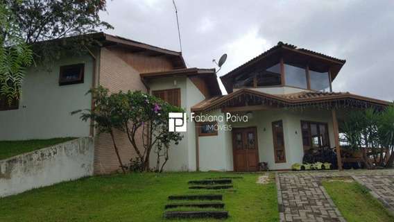 Casa Com 3 Dormitórios À Venda, 200 M² Por R$ 650.000 - Reserva Ibirapitanga - Santa Isabel/sp - Ca0090