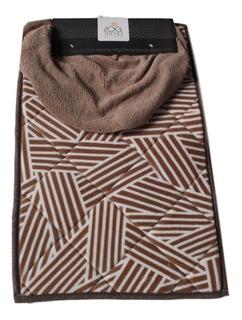 Juego Tapetes De Baño Calidad Rog Textile Doble Vista