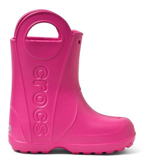 Botas De Lluvia Niños Crocs Original Handle It Rain Boot