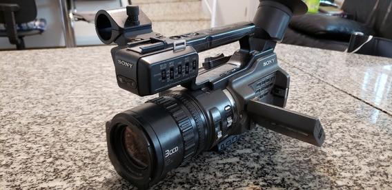 Câmera De Video Sony Pd 170 - Funcionando!