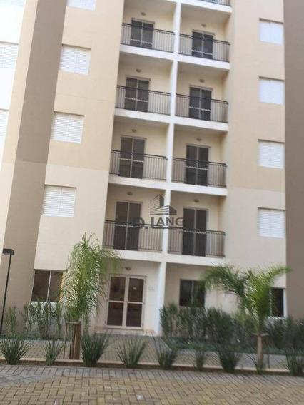 Apartamento Com 2 Dormitórios À Venda, 57 M² Por R$ 250.000 - Parque Jatobá (nova Veneza) - Sumaré/sp - Ap17261