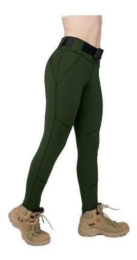 Legging Tátical Fitness Feminina Arrest Arl01 - Verde P