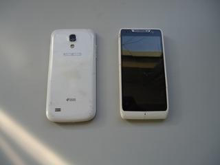 Dois Celulares Para Retirada De Peças Samsung E Motorola