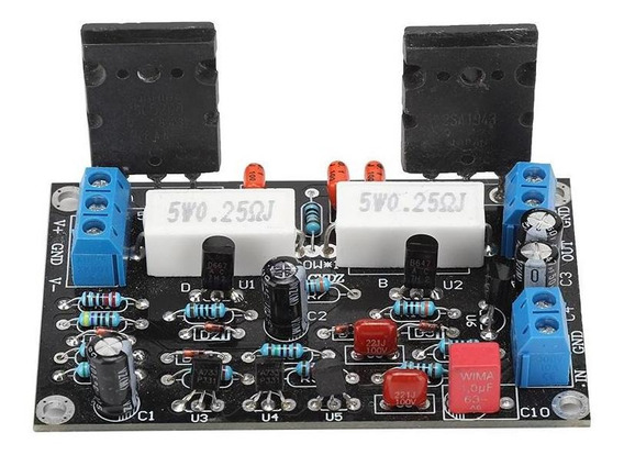Dc35v 2sc5200+2sa1943 Power Amplifier Board 100w Amp Speaker