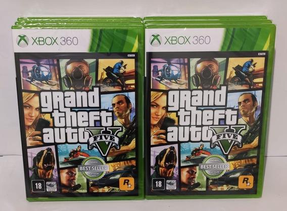 Jogo Gta Xbox V 360 Premiun Original Mídia Física