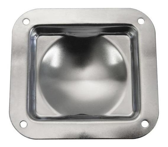 Kit 8 Suporte Metal P/ Case Penn Elcom P/ Encaixe De Rodízio