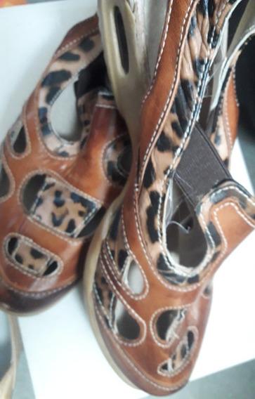 Zapatos De Cuero Marcel , Usados, Buen Estado.