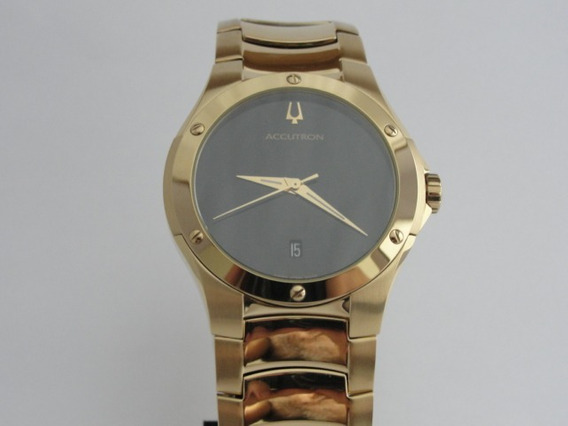 Relógio Bulova Accutron Masculino - Swiss - Ref: 27b64