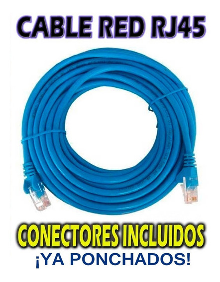 Cable De Red Por Metro Internet Cat5e Cctv Redes