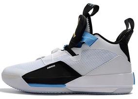 huge selection of d87b2 c8f2b Zapatillas Nike Air Jordan 33 Blanco Y Negro 40-45