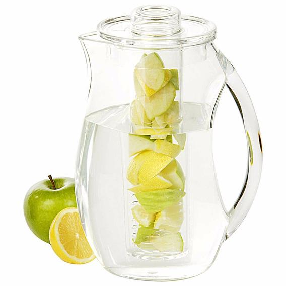 Jarra Con Infusor 2.5 Litros Bebidas Naturales Y Frescas
