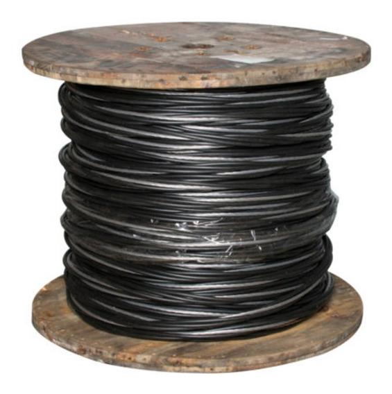 Cable Aluminio Multiple Cfe 3+1 Cal #3/0 250mt Aereo Condumx