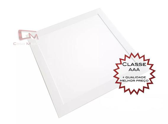 Kit 9 Painel Led 40x40 36w Branco Quente 3000k Embutir
