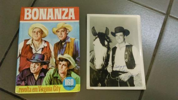Bonanza - Revolta Em Virginia City - Com Coleção Heróica