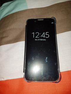 Funda Flip Cover View Samsung Galaxy S7 Flat Original Nueva!