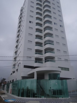 Apartamento Na Praia R$ 220 Mil, Com Vista Para O Mar C
