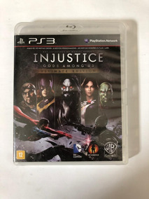 Injustice Gods Among Us Ultimate Edition - Ps3 Midia Fisica