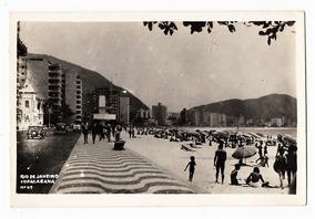 Cartao Postal Copacabana Antiga Rio De Janeiro Rj - Anos 30