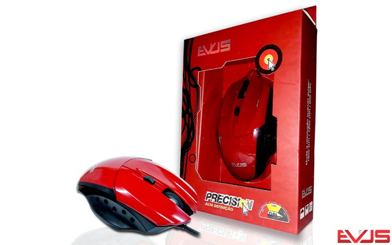 Mouse Gamer Precision Mg-07 Evus