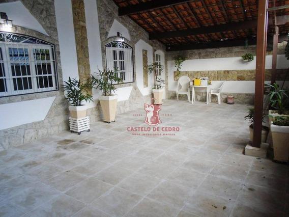 Casa Com 3 Dormitórios Para Alugar, 200 M² Por R$ 3.000/mês - Vila Guilhermina - Praia Grande/sp - Ca0181