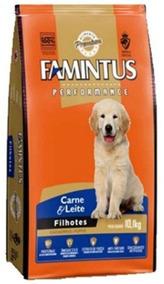 Ração Famintus Performance Carne E Leite Filhotes 10,1 Kg