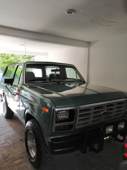 Bronco Xlt, 8 Cilindros, Motor 3.7 L,