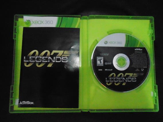 Jogo Xbox 360 - 007 Legends Midia Fisica