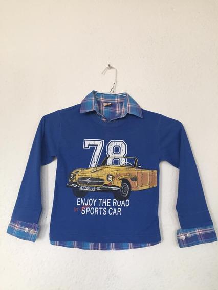 Camisa Sueter Niño Jhon Cue Niño - Talla 4 B480 (5)