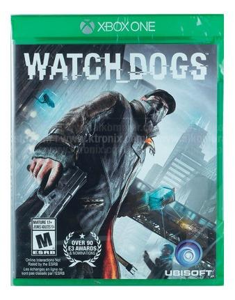 Videojuego Xbox One Watch Dogs Videojuego Xbox One W Tk059