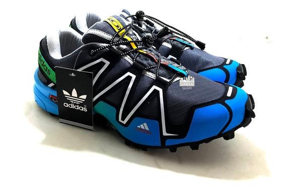 Tênis Speedcross 3 4 Trava Caminhada Ciclismo Corrida Frete