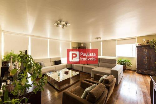 Apartamento Com 4 Dormitórios Com 3 Garagens À Venda, 240 M²  - Higienópolis - São Paulo/sp - Ap26560