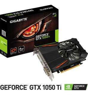 Tarjeta De Video Gigabyte Geforce Gtx 1050 Ti 4gb Gddr5