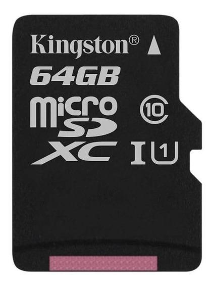 Cartão de memória Kingston SDCS Canvas Select 64GB