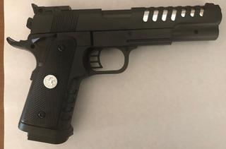 Pistola Arma Airsoft 6mm Smith&wesson Grande Resorte Potente