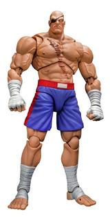Street Fighter 2 Ultra Sagat Storm Collectibles Robot Negro
