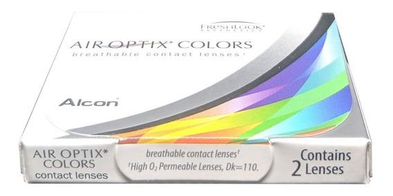 Lentes De Contacto Air Optix Colors 2 Pzas Mensual