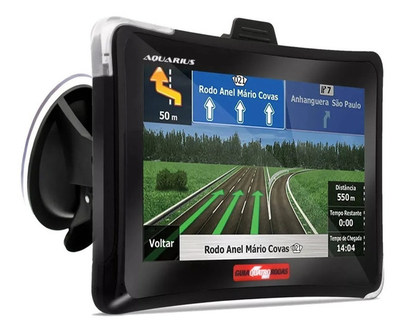 Navegador Gps Automotivo 4.3 Quatro Rodas Tv Digital Radar