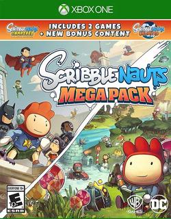 Scribblenauts Mega Pack Xbox One Nuevo Sellado