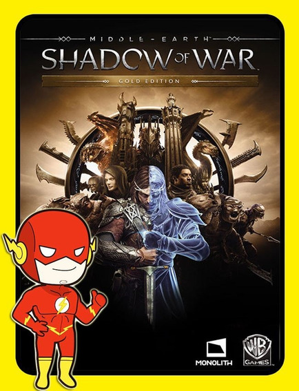 Middle Earth Shadow Of War Gold - Pc Steam Key (envio Flash)