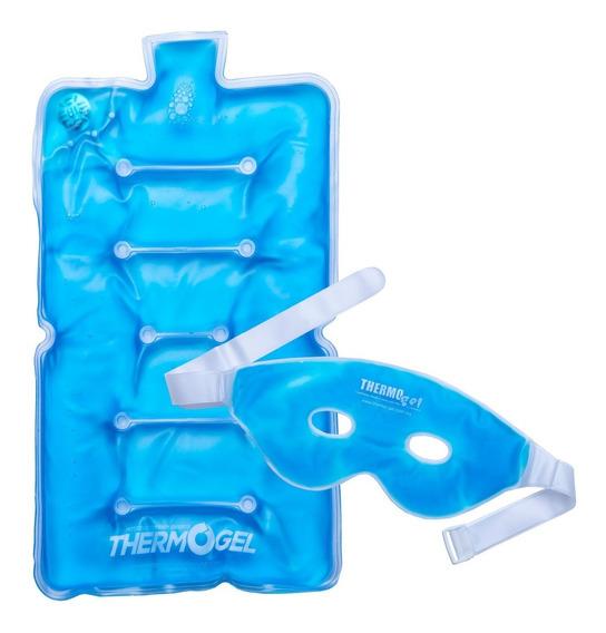 Pack Compresa De Gel Grande Con Antifaz Thermo Gel
